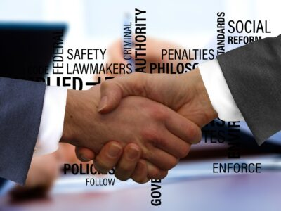 Shaking Hands Handshake Contract Conclusion Rules