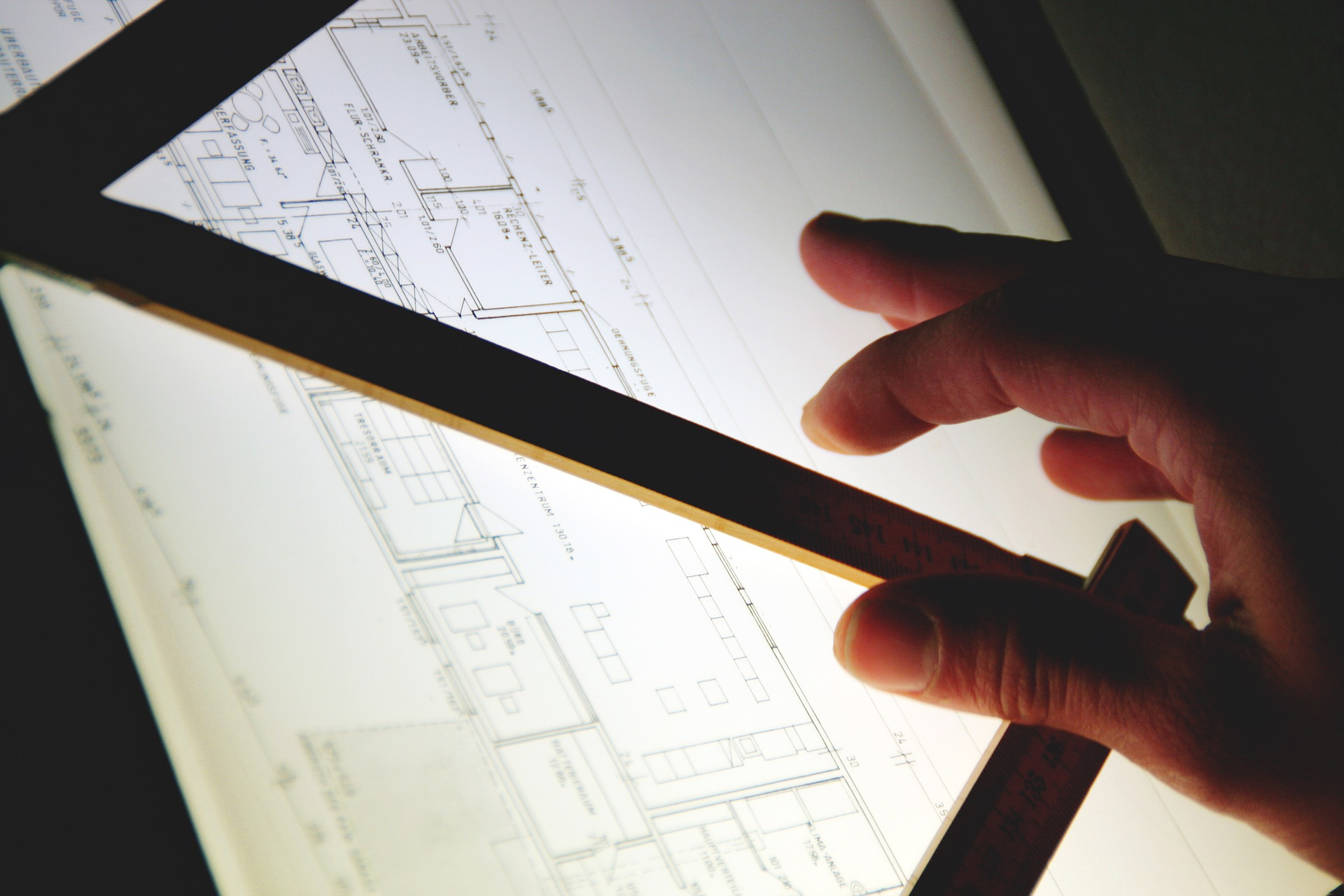 Drawing Architect Designer Plan Building Plan