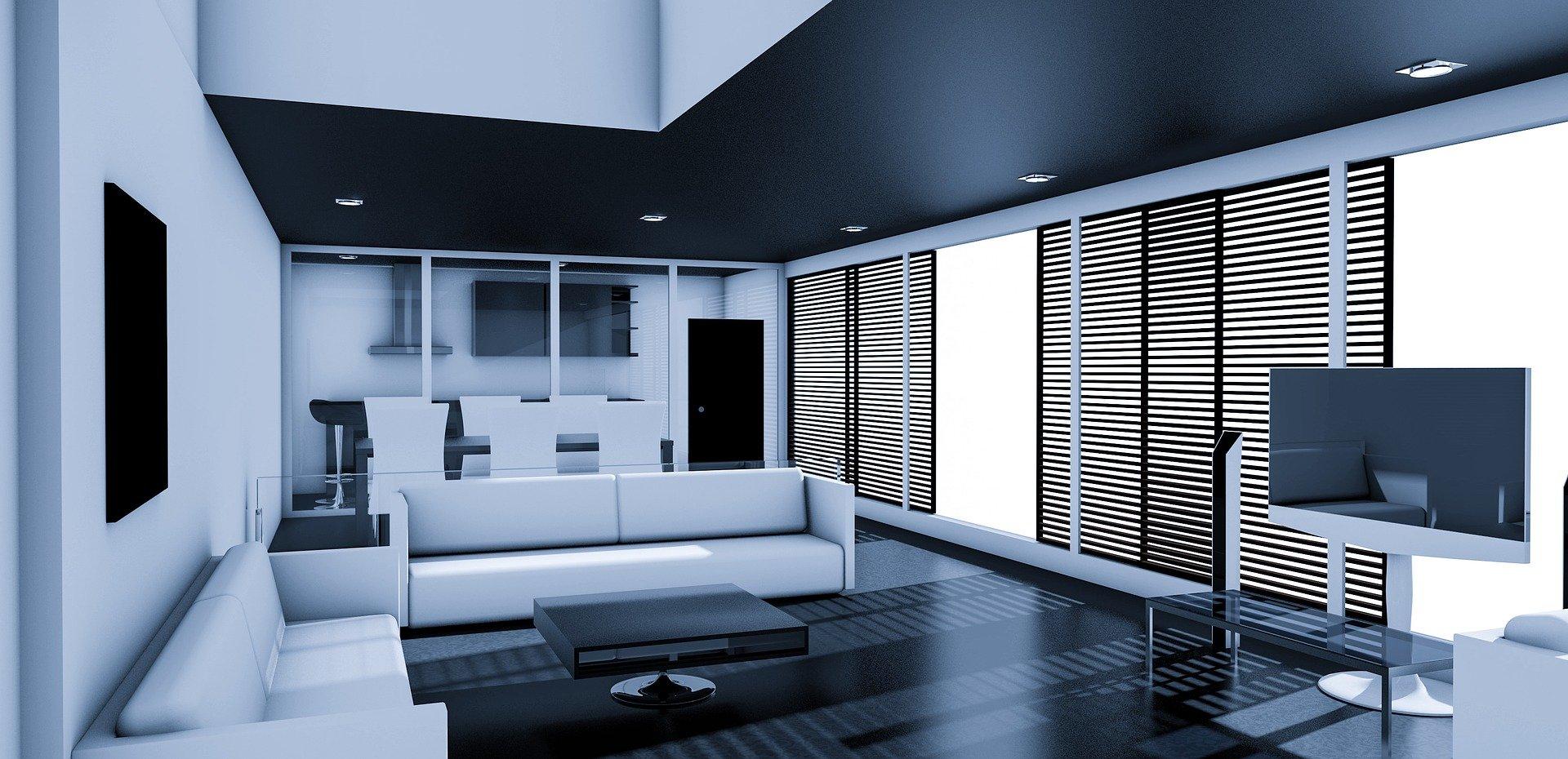 Living Room Apartment Room Interior Furniture