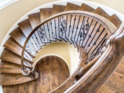 Real Estate Luxury Home Trim Residential Stairway