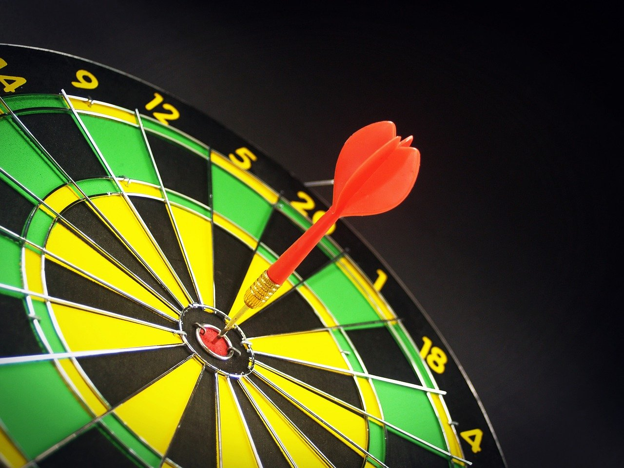 Target Goal Aiming Dartboard Aim Focus Arrow S