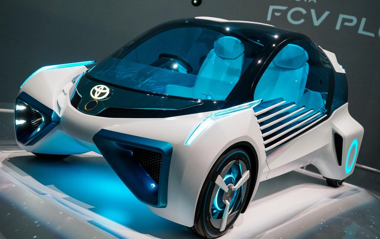 Toyota Fcv Plus Concept Car 2016 Blue Car