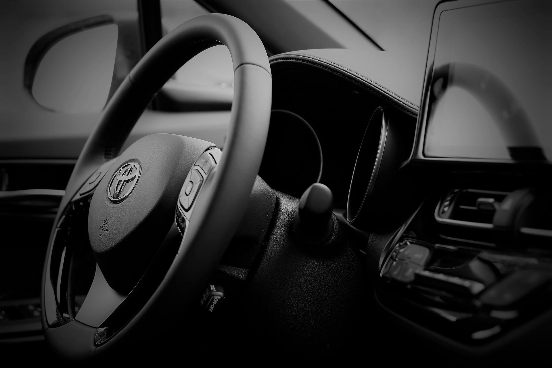 Toyota C-Hr Hybrid Car InteriorToyota C-Hr Hybrid Car Interior